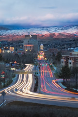 Goodnight Boise (Jared Ropelato) Tags: park christmas winter jared snow nature landscape photography holidays day outdoor environmental canyon cliffs boise photograph 2012 enviro jumpcreekcanyon jumpcreek ropelato ropelatophotography decempter