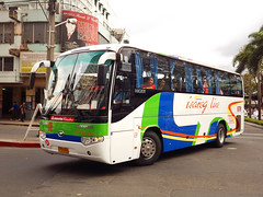 Off to Masbate (eugenegene01) Tags: china bus buses station south philippines transport photographers system line airconditioned co enthusiast society limited ltd bicol fare cubao inc association masbate philippine regular 878 araneta higer isarog pbpa philbes klq6109qe3 eugenegene01
