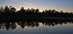 Duck Pond - Eglin Range Complex, Florida (fisherbray) Tags: sunset usa lake water nikon wasser unitedstates florida hike trail airforce usaf duckpond floridatrail eglin eglinafb okaloosacounty d5000 floridanationalscenictrail fisherbray eglinrangecomplex