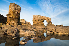 """Stacks and Arch at Lizard Point below Souter Lighthouse, Whitburn<br /><span style=""""font-size:0.8em;"""">This image is part of a photoshoot that is discussed in Ian Purves blog -  <a href=""""http://purves.net/?p=923"""" rel=""""nofollow"""">purves.net/?p=923</a><br />Title: Rock Arch at Lizard Point in Whitburn<br />Location: Whitburn, South Shields, Tyne and Wear, UK</span> • <a style=""""font-size:0.8em;"""" href=""""https://www.flickr.com/photos/21540187@N07/8377053660/"""" target=""""_blank"""">View on Flickr</a>"""