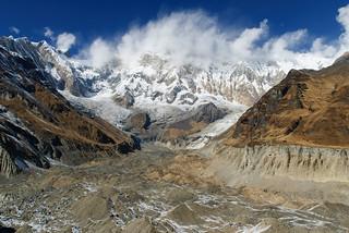 Annapurna Base Camp, Nepal - Annapurna I (8 091m)