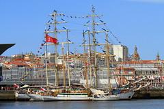 IMG_1617 (Paco Gonzlez1) Tags: puerto muelle corua barco cuttysark 2012 velero tallshipsrace trasatlantico