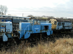 Kemira 1 industrial loco at Barrow Hill, 13th Jan 2013. (Dave Wragg) Tags: 1 diesel railway locomotive kemira shunter barrowhill industrialloco