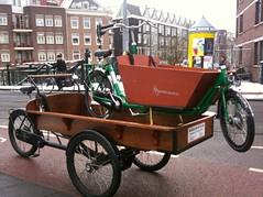 Workcycles bakfiets bakfietsen ambulance (@WorkCycles) Tags: rescue amsterdam pickup ambulance repair service stranded bakfiets bakfietsen pcikup workcycles