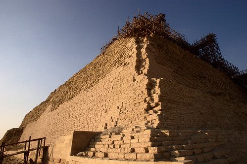 Pyramid of Djoser closeup