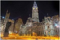 City Hall Philadelphia (Jas Bassi) Tags: philadelphia philadelphiacityhall cityhall pa nighttime nght photographycityjasjas bassijas bassi photographyjassinikon2470mmpennsalvaniyawilliam pennus national historic landmark cityhallphiladelphia jas nightphorography dirtycity yellowlight cityatnight phillynight philadelphiaatnighttime philly night time phillyatnighttime citynightscene
