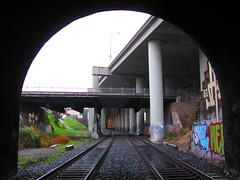 (VDub (o\I/o)) Tags: sf sanfrancisco california ca street art wall train graffiti bay san francisco paint tracks tunnel tags spray area bayarea spraypaint walls graff tunnels aerosol tagging trackside