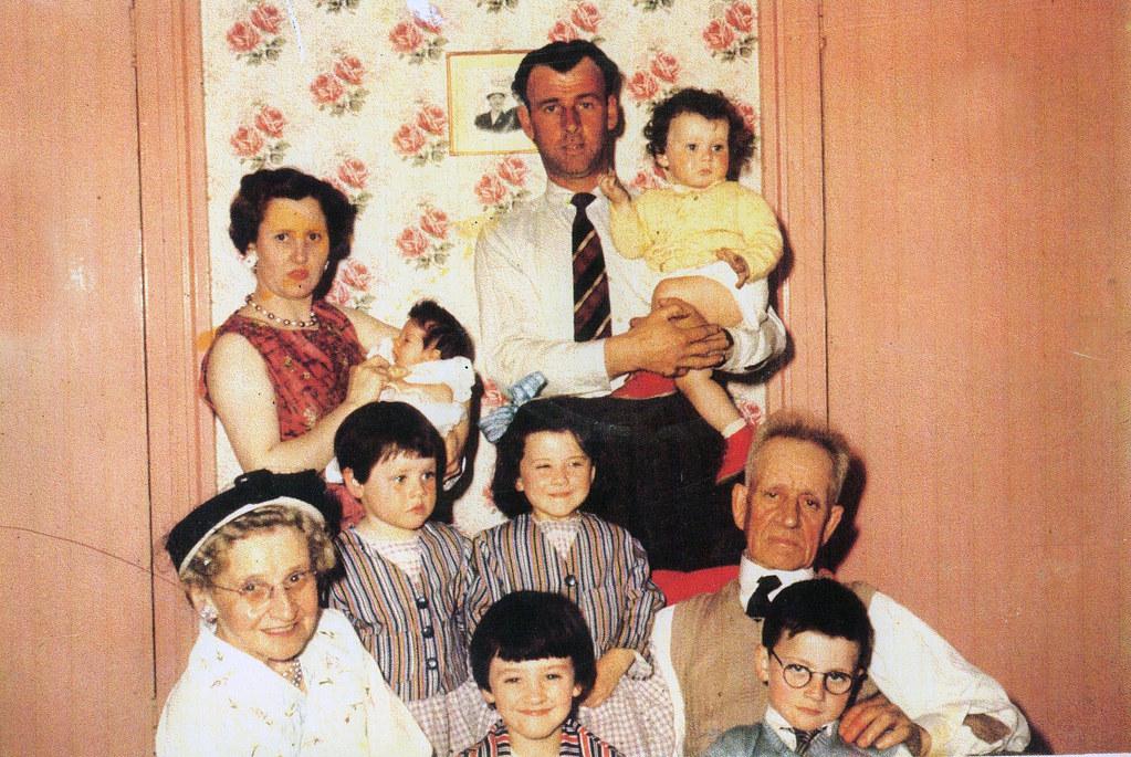 The McCauley Family 1960s