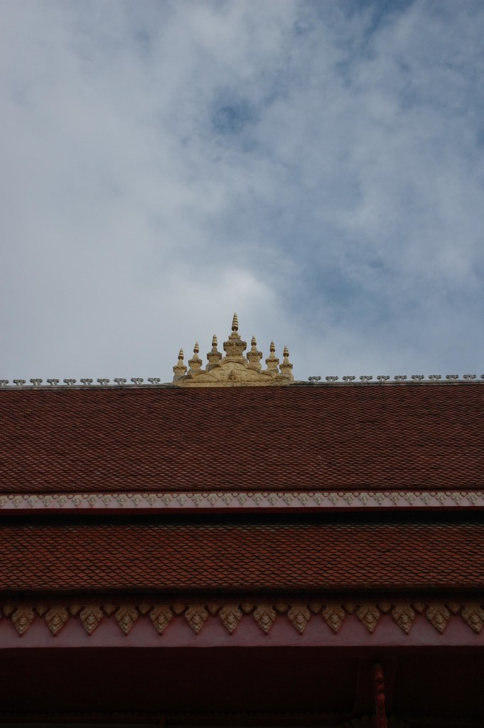 Temple roof, Savannakhet, Southern Laos