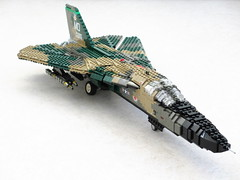 F-111A Aardvark (1) (Mad physicist) Tags: fighter lego bomber aardvark f111 generaldynamics mountainhome f111a