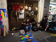 P1290308 (igorschutz) Tags: street brazil cantor pessoas arte sopaulo augusta rua msica artista calada chapu violo instrumento