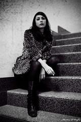 One lazy sunday #6 (MartinaD) Tags: portrait girl fashion vintage mod noir style retro brunette