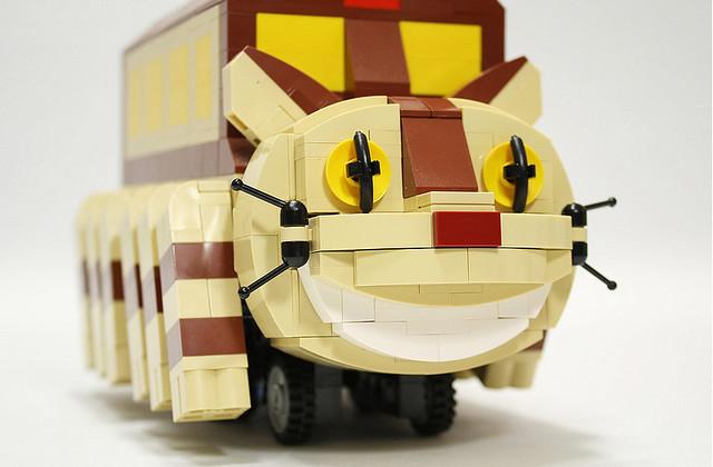 LEGO 玩家自製 貓巴士