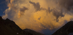 panorama Punta de Vacas (Rafael Edwards) Tags: sunset sky cloud colors clouds de atardecer skies himmel colores silo ciel cielo nubes punta cielos ceu nube vacas ceus aconcagua puntadevacas parquesdeestudioyreflexion