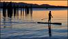 Sunset at Shilshole Bay (@GilAegerter / klahini.com) Tags: nikon nikkor seattle paddleboard paddleboarding sup water ocean sunset pugetsound 1855mmf3556gvr d3200 nikond3200