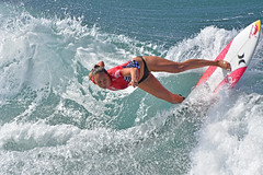 US Open (simpsongls) Tags: surfing waves ocean seaside shore shoreline women competitors board coast coastline competition sports