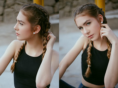 (Tc photography.Perú) Tags: girl beauty teen model eyes naturallight germany style photoshoot hairstyle converse street portrait 50mm canon tcphotography