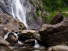 Aber Falls (Raydn Hunter) Tags: northwales waterfall olympus olympuspen ndfilter snowdonia landscape