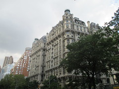 Ansonia Building - Former Residence of Pogo Cartoonist Walt Kelly 3591 (Brechtbug) Tags: the ansonia apartment building now condo upper west side new york city 2109 broadway between 73rd 74th streets built 1899 opened 1904 beaux arts architectural style mansard roof architect paul e m duboy featured 1992 film single white female bridget fonda jennifer jason leigh home pogo cartoonist disney animator walt kelly mobster arnold rothstein athletes jack dempsey babe ruth 8202016 nyc 2016