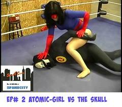 SPAND X COMICS (jayphelps) Tags: spandex fetish cosplay superhero superheroine wam gunge peril stuck comics batman batgirl supergirl wonderwoman