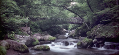 Kiyosato Bridge (gracejonathan) Tags: mamiyarb67pros kiyosato japan hokuto yamanashi longexposure film fujipro 160ns