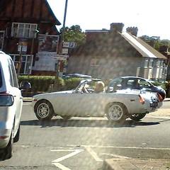 (uk_senator) Tags: mg mgbgt mgb gt bgt v8 roadster convertible white