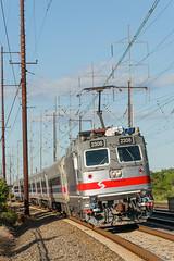 16-5450 (George Hamlin) Tags: delaware claymont railroad passenger train commuter alp44 electric locomotive septa 2308 southbound overhead catenary wires photo decor george hamlin photography