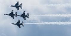 Thunderbirds underside (LEXPIX_) Tags: f16 thunderbirds diamond formation underside lexpix