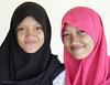 Wellcome to Makassar (Collin Key) Tags: makassar face portrait veil hijab indonesia girls sulawesi idn
