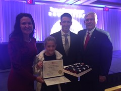 Pete Sessions at the Dallas Fallen Officers Association dinner with Former navy seal team six Clint Emerson