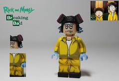 Artwork Inspired: Rick & Morty/Breaking Bad crossover (TheCampervanTom) Tags: lego custom rick morty breaking bad jkingtheartist artwork