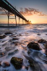 The Other Side (Stu Meech) Tags: clevedon pier somerset sunset bristol channel rocks long exposure nikon d750 1635 lee filters stu meech