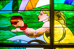 Somewhere in April Time (Thomas Hawk) Tags: grandwailea hawaii maui wailea waldorfastoria waldorfastoriagrandwailea chapel stainglass stainedglass weddingchapel