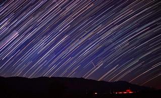 Persieds & Star Trails