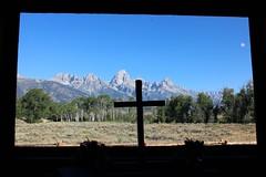 Chapel of the Transfiguration, Grand Teton National Park, Wyoming, USA (Bencito the Traveller) Tags: chapelofthetransfiguration grandtetonnationalpark wyoming usa