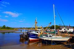 Kirkcudbright harbour (alanrharris53) Tags: scotland kirkcudbrightshire kirkcudbright fishing boats water river dee tide tidal galloway dumfries