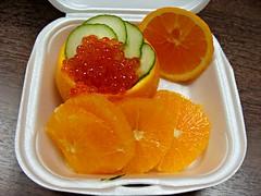 Ikura Orange (knightbefore_99) Tags: food work lunch tasty takeaway takeout asian ikura fish egg orange sushimoto stuffed delicious awesome japan japanese