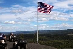 20160911131833_IMG_3501 (arielandrew) Tags: 911 glenlyon mocanaqua flag america american memorial woods outdoor canon rebel t6i quads atv