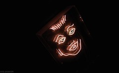 Blade Runner. (vito.chiancone) Tags: urban blade runner bladerunner 80s eighties postmodern neonlights neon industrial light ottanta girl ragazza ritratto brisbane queensland australia city