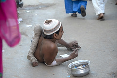 INDIA7921 (Glenn Losack, M.D.) Tags: india beggars handicapped portraits photojournalism ajmer poor poverty