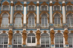 Catherine Palace of Tsarskoye Selo near Saint Petersburg (yuanxizhou) Tags: awesome historical culture architecturephotography travelphotography europe scenery city urban building architecture detail site attraction royal stpetersburg russia travel