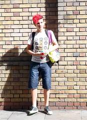 Boy on Brick Lane London (natalieguide) Tags: redhair androgynous london bricklane