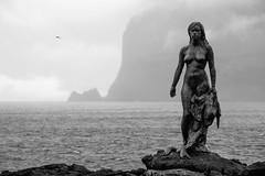 Seehundfrau in Mikladalur