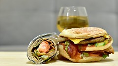 Burgerrrr!!! (Sanjiban2011) Tags: food foodphotography snacks burger tabletop indoor junkfood depthoffield bokeh nikon d750 nikon50mm fullframe fx colours