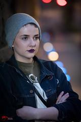 21:200 Strangers - Catie (BruceTetleyPhotography) Tags: 100strangers humanfamly posing nikon d700 70200mm streetphotography queenstreet beauty lowkey portrait portraiture