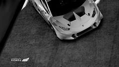 Hurácan LP620-2 Super Trofeo | #4 | FM6 (Mr. Pebb) Tags: xboxonephotomode xboxone fm6photomode forzamotorsport6photomode forzaseries foza6 forza6photomode forzamotorsport6 fm6 turn10 stockshot stockphotomode lamborghini hurácanlp6202supertrofeo italianracecar italian v10 rwd rearwheeldrive midengined mr blackandwhite bw