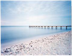 Skateholm 4x5 - Kodak Ektar (magnus.joensson) Tags: skateholm skåne sweden swedish ocean bridge sunrise wanderlust cameras travelwide 90 schneider angulon 90mm f68 kodak ektar 100 4x5 large format c41 epson v800