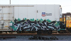 Terms (quiet-silence) Tags: railroad art train graffiti ant railcar unionpacific graff freight reefer terms armn fr8 allnation