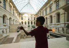 Le Louvre (daniel.frauchiger) Tags: boy paris france window louvre panasonic gf1