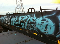 Pater Aehr (TheRekonizer) Tags: minnesota train graffiti minneapolis twincities saintpaul nk pater oilcar aehr rekonize